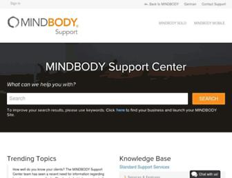 support.mindbodyonline.com screenshot