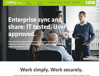 Thumbshot of Cubby.com