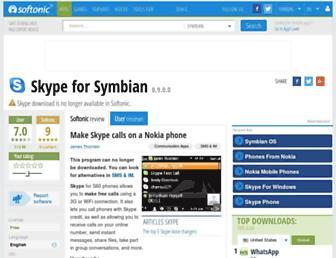 skype-s60-fp2.en.softonic.com screenshot