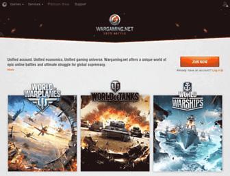 na.wargaming.net screenshot