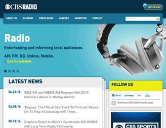 Thumbshot of Cbsradio.com