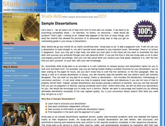 study-aids.co.uk screenshot