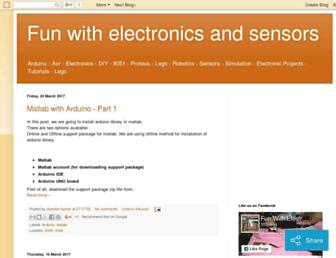 funwidelectronics.blogspot.com screenshot
