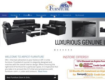 arpicofurniture.com screenshot