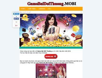 gamebaidoithuong.mobi screenshot