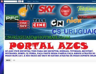 azcssuporte.blogspot.com screenshot