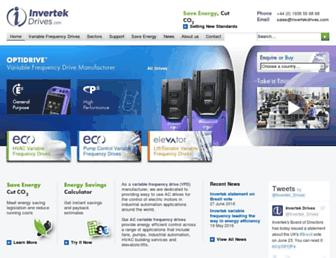 invertekdrives.com screenshot