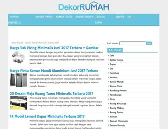 dekorrumah.net screenshot