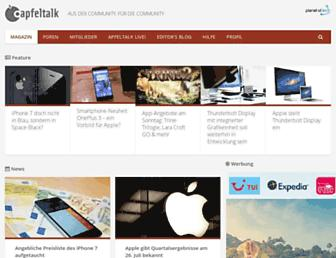 apfeltalk.de screenshot