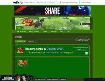 es.zelda.wikia.com screenshot