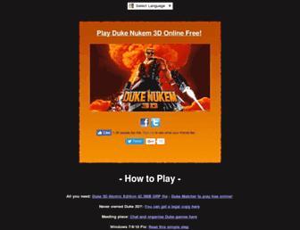 dukematches.net screenshot