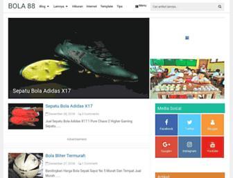 bulatbola88.blogspot.com screenshot