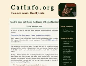 Thumbshot of Catinfo.org