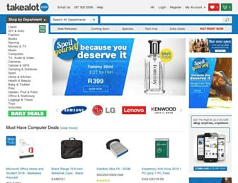 takealot.com screenshot