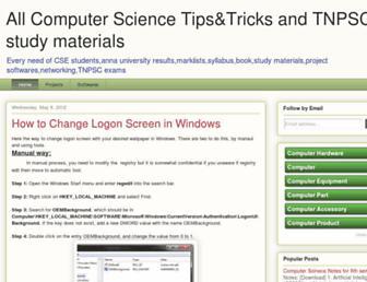 allcse.blogspot.com screenshot