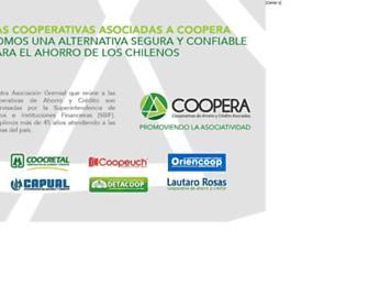 Main page screenshot of elquehaydecierto.cl