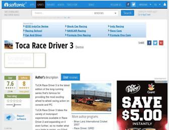 toca-race-driver-3.en.softonic.com screenshot