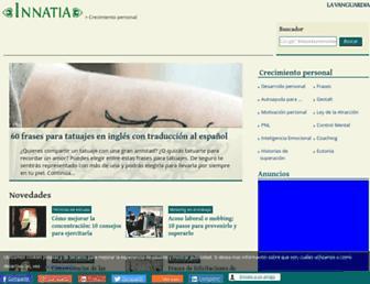 crecimiento-personal.innatia.com screenshot