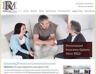 irm-ms.com screenshot