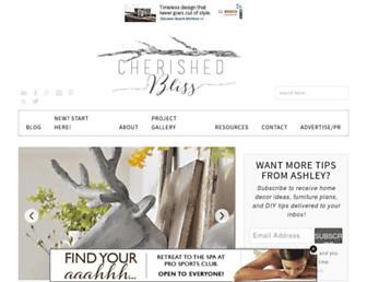 cherishedbliss.com screenshot