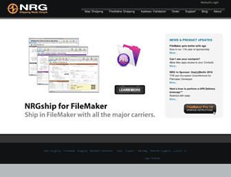 nrgsoft.com screenshot