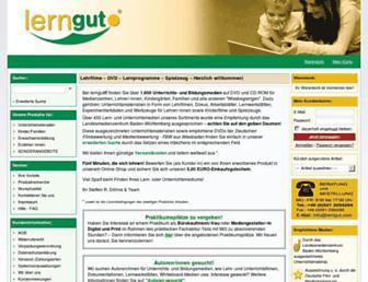Thumbshot of Lerngut.com