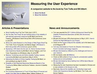 measuringux.com screenshot