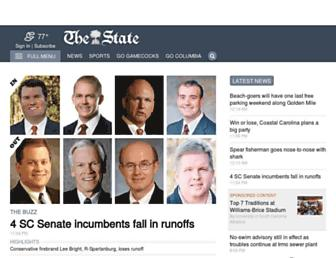 thestate.com screenshot