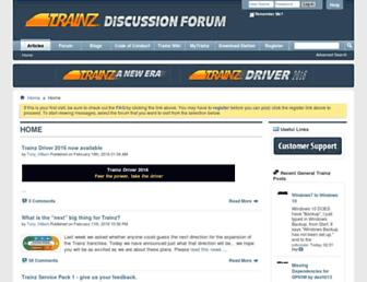 forums.auran.com screenshot