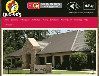 buc-ees.com screenshot