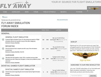 forum.flyawaysimulation.com screenshot