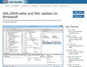 xml-buddy.com screenshot