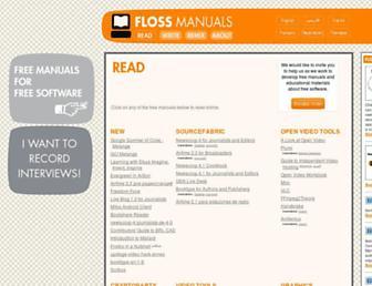 en.flossmanuals.net screenshot