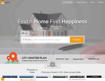 proptiger.com screenshot