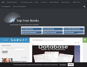 topfreebooks.org screenshot