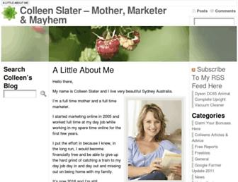 Thumbshot of Colleenslater.com