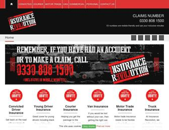 insurancerevolution.co.uk screenshot