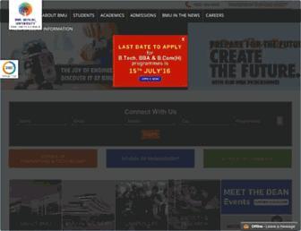 bml.edu.in screenshot