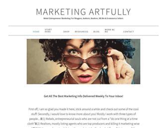 marketingartfully.com screenshot