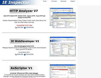 ieinspector.com screenshot
