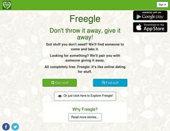 freegle.in screenshot