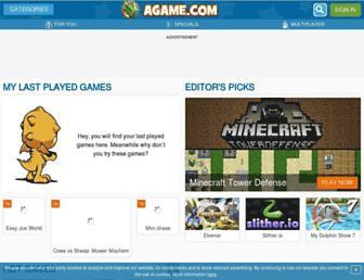 www8.agame.com screenshot