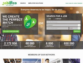 jobillico.com screenshot