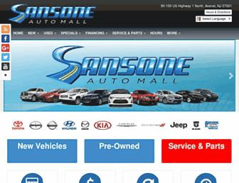 sansoneauto.com screenshot