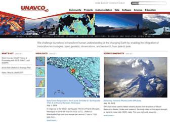 Thumbshot of Unavco.org