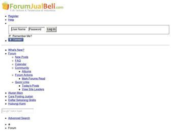 Thumbshot of Forumjualbeli.com