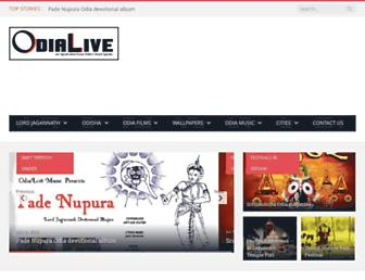 odialive.com screenshot