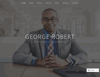 georgerobertuniverse.com screenshot