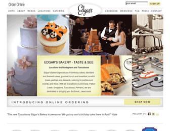 edgarsbakery.com screenshot
