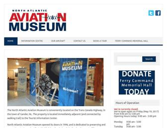 northatlanticaviationmuseum.com screenshot
